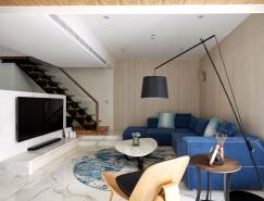 台北现代简约复式公寓设计