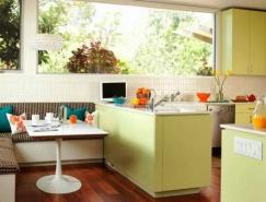 在厨房用餐 22个漂亮的厨房餐桌设计