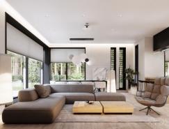 完美简约的夏天度假别墅空间设计