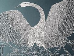 Pippa Dyrlaga創意的剪紙藝術作品
