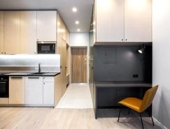 大量储物空间的37平米舒适公寓设计