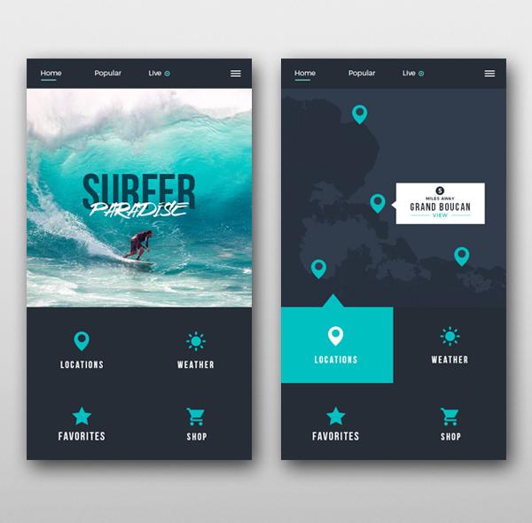 35 app ui for Design your home app