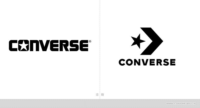 匡威(Converse)品牌升级,更换新LOGO