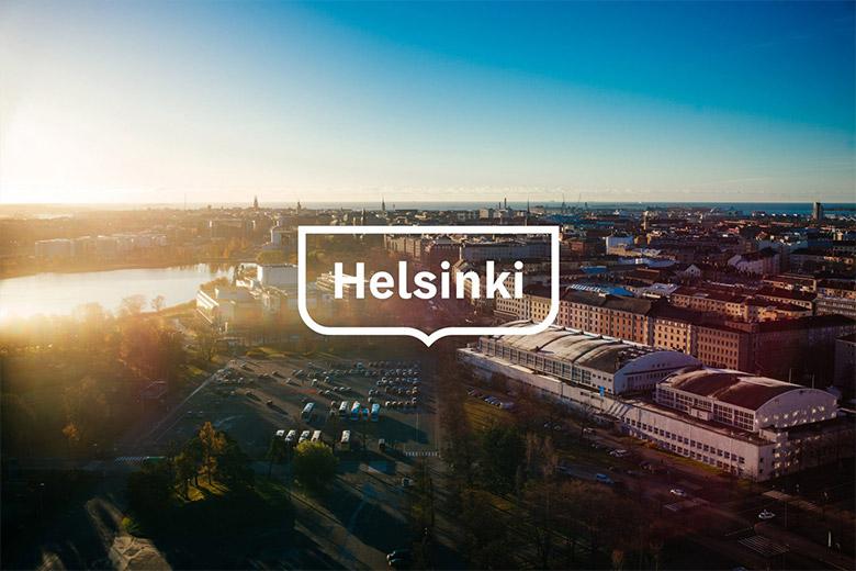 芬兰首都赫尔辛基(Helsinki)发布全新的城市品牌形象标识