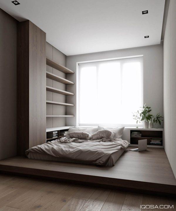 3个60平米精致豪华装修的小公寓设计(2)