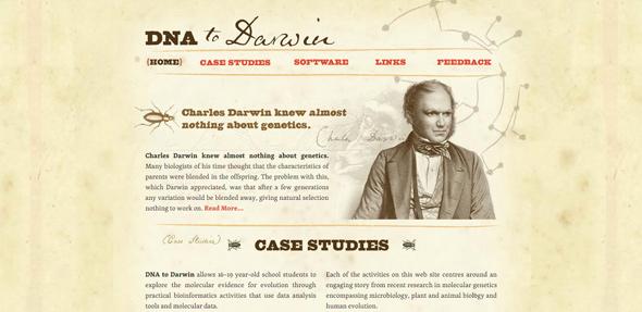 25个国外复古风格网站设计欣赏