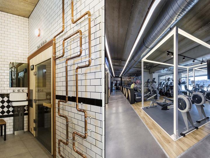 法国Metabolik工业风格健身房设计
