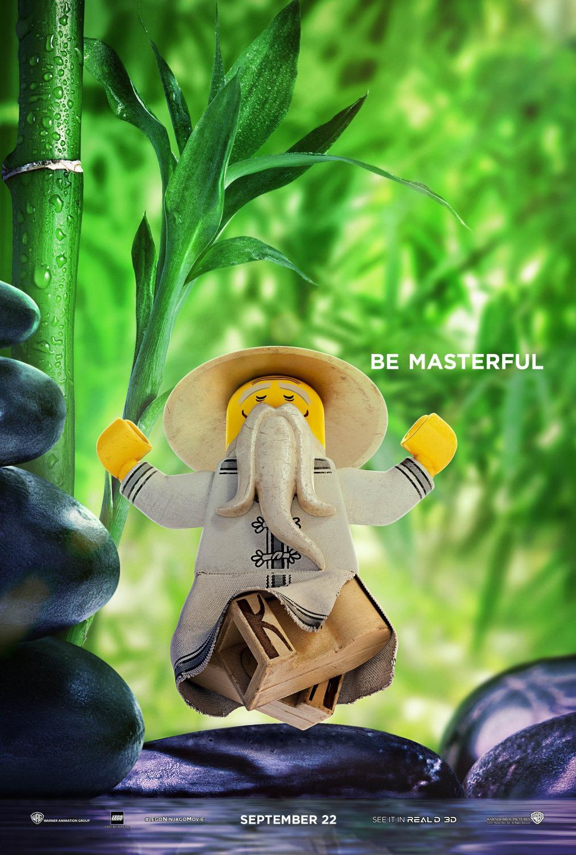 怪兽_电影海报欣赏:乐高幻影忍者大电影(The LEGO NINJAGO Movie) - 设计之家