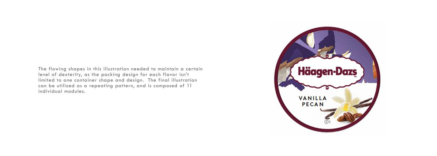 Andrew Wagner:哈根达斯插画和包装设计