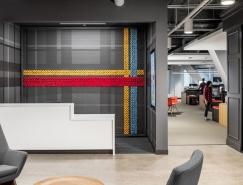 冰淇淋品牌Blue Bunny办公室空间设计