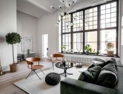 5个北欧风现代公寓设计
