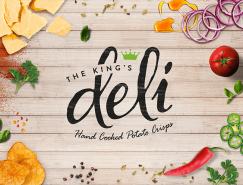 The King's Deli薯片包装设计