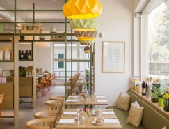 Pulcino Bio有机餐厅空间皇冠新2网