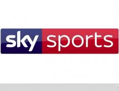 英国天空体育台(Sky Sports)推出新LOGO