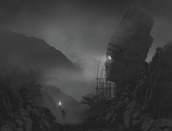 Dawid Planeta神秘黑暗系插画作品欣赏