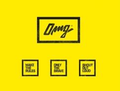 服裝品牌OMG視覺形象設計