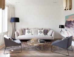 传统与现代相融合的巴塞罗那Aribau公寓设计