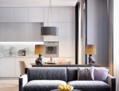 3個60平米精致豪華裝修的小公寓設計