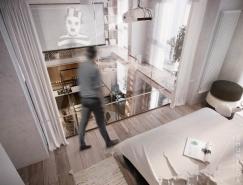 4个简约别致的Loft公寓设计