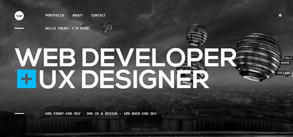 25个国外宽屏网站设计欣赏