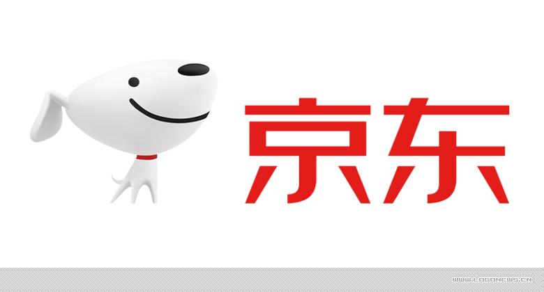 京东新logo白底效果