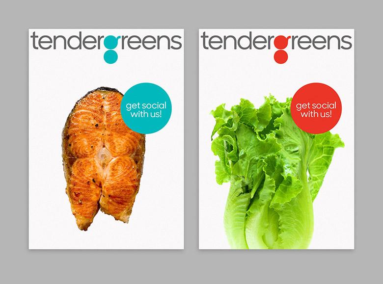 """美國連鎖快餐店Tender Greens啟用新LOGO 突出字母""""g"""""""