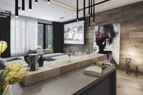 当木质遇到混凝土:4个现代公寓设计