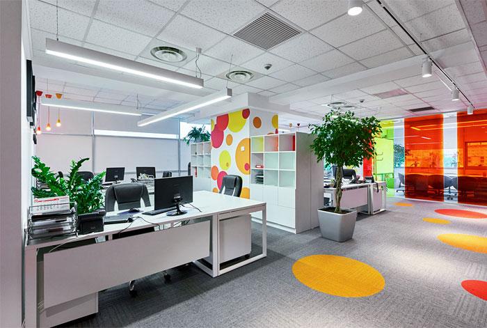 罗马尼亚能源公司BRP办公空间设计