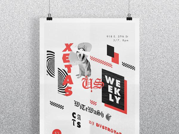 30个国外音乐节海报设计欣赏