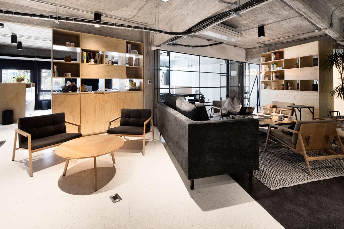 转换到清新北欧休憩场域,整体氛围改变之间,也让办公室午餐,下午茶图片