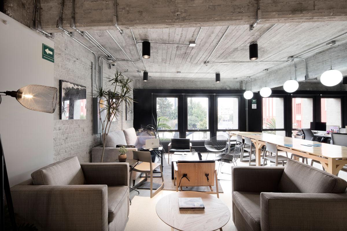墨西哥工业风loft办公室设计