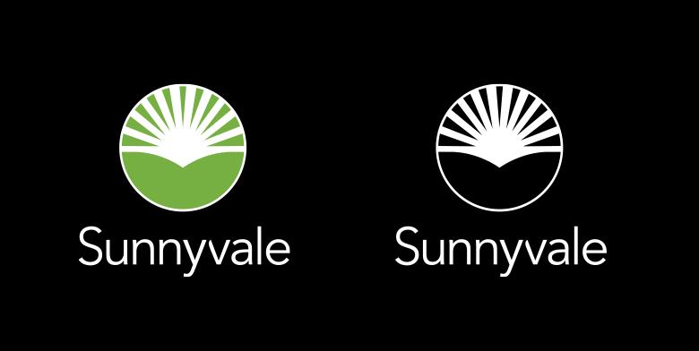 森尼韦尔(Sunnyvale)启用全新的城市形象标志