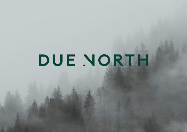 Due North品牌视觉形象设计