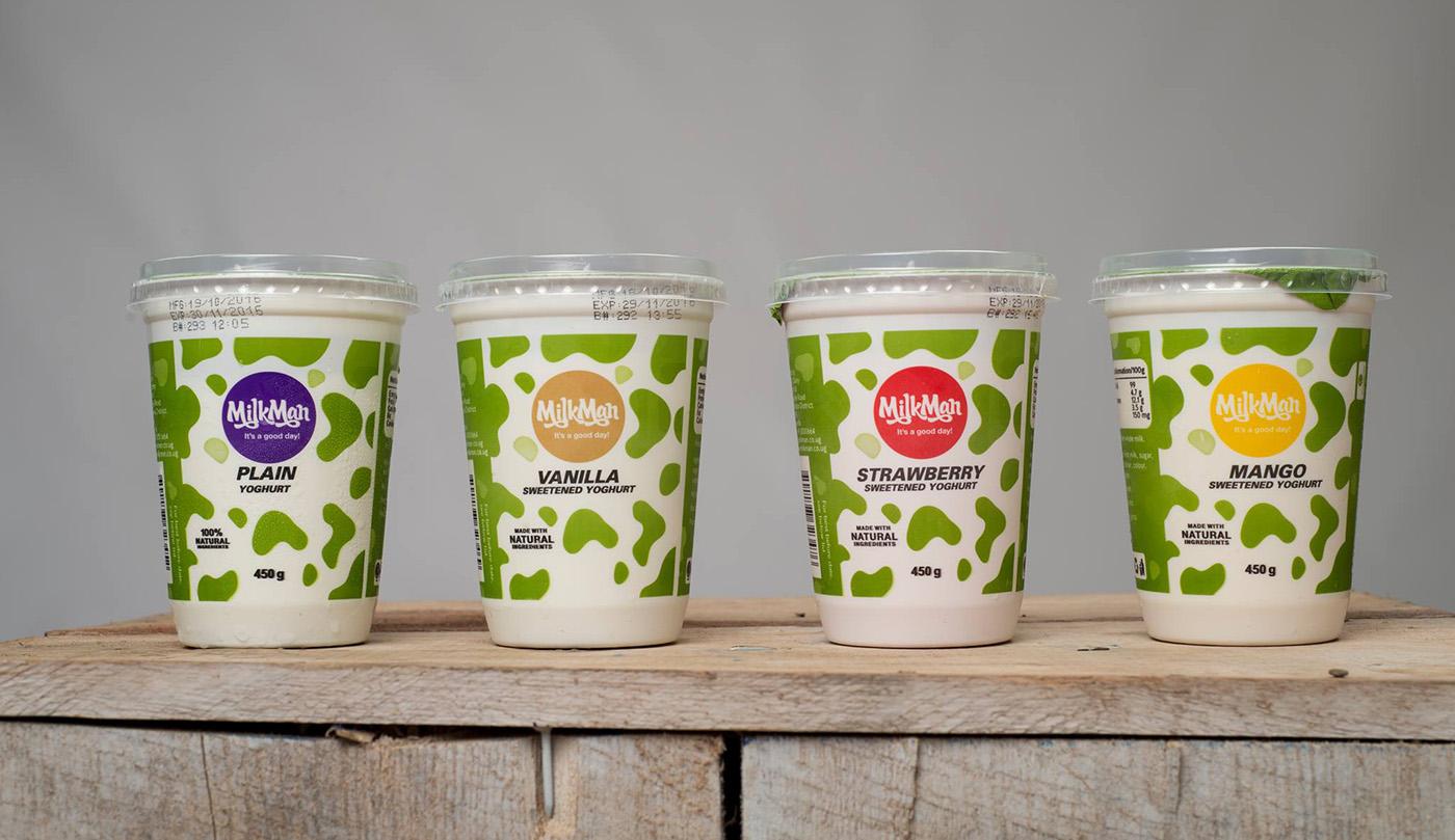 MilkMan牛奶包装设计