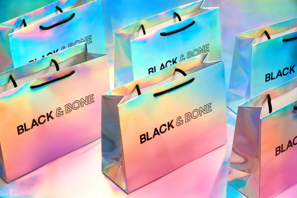 Black & Bone潮流女装品牌形象设计