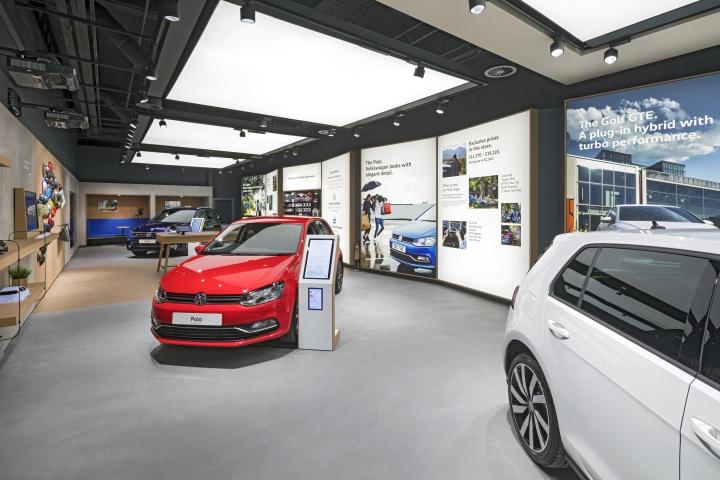 伯明翰Bullring大众汽车展厅设计