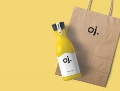Oj.果汁包装设计