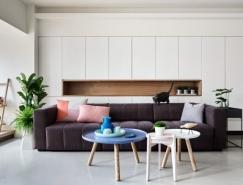 自然简约的现代复式公寓设计