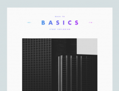Vedad SiljakMunich优雅和极简的网页设计