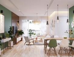 斯堪的納維亞風格現代家居裝修設計