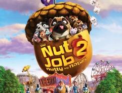 电影海报欣赏:抢劫坚果店2 The Nut Job 2: Nutt