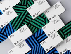 无人机品牌Aker视觉形象和监控界面设计