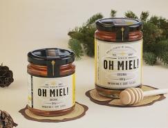 Oh Miel!蜂蜜包装设计