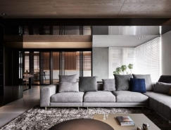 酷黑梦幻的现代风格豪宅设计