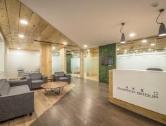 木质空间:印度新德里斯沃琪集团办公空间设计