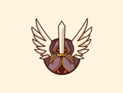 标志设计元素应用实例:天使