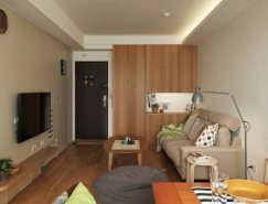 空间的有效利用:3个精装小公寓设计
