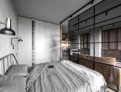 46平米工业风格小公寓设计