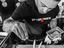 美国连锁快餐店Tender Greens启用新LOGO
