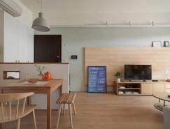 100平米二居室现代公寓装修设计